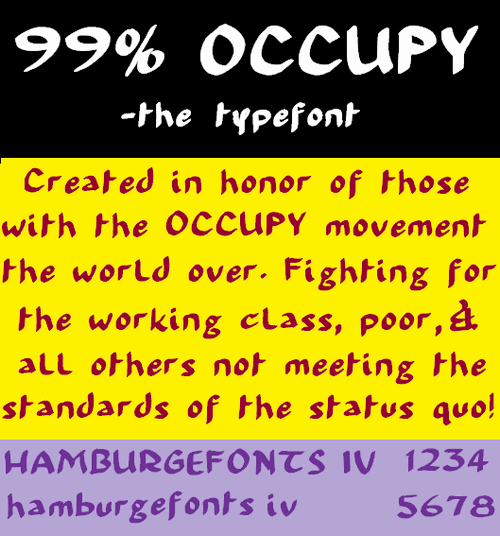 99 percent OCCUPY